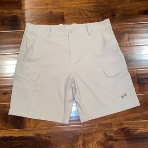 New *Under Armour* Loose casual golf cargo shorts